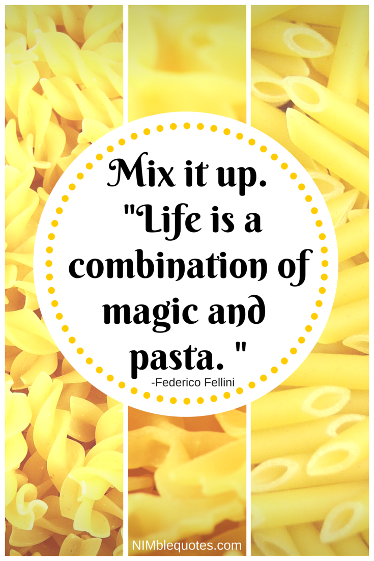 NQ Food Quote Fellini