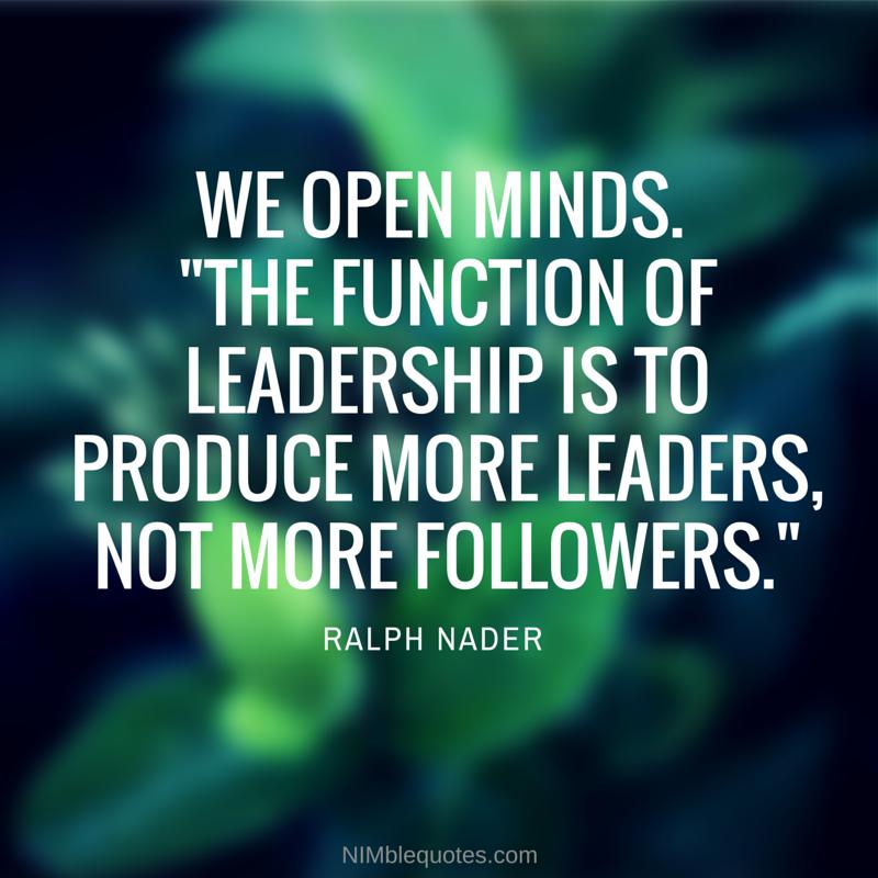 NQ Leadership Quote Nader