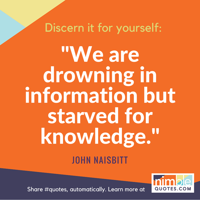 NQ branded promo Naisbitt learning quote