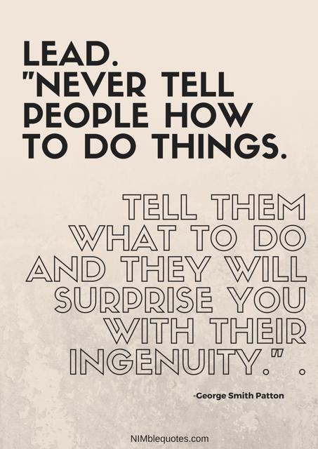 Nimble Quotes George Smith Patton