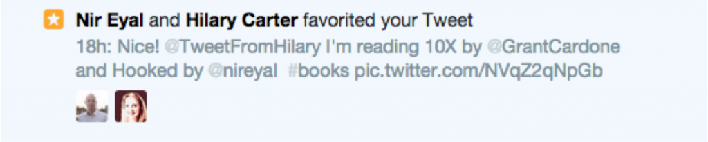 Hilary and other author responded