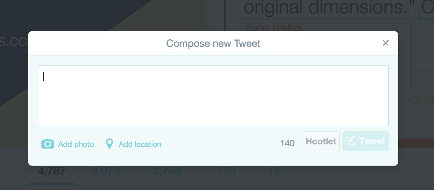 Compose A New Tweet Screen Nimble Quotes