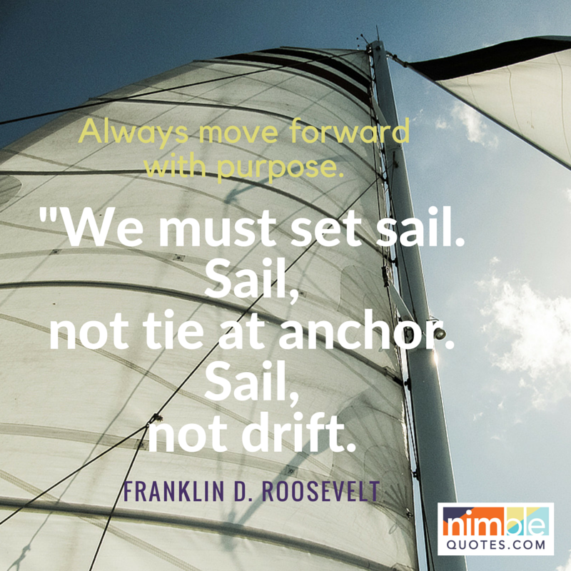 Nimble Quotes Franklin Roosevelt
