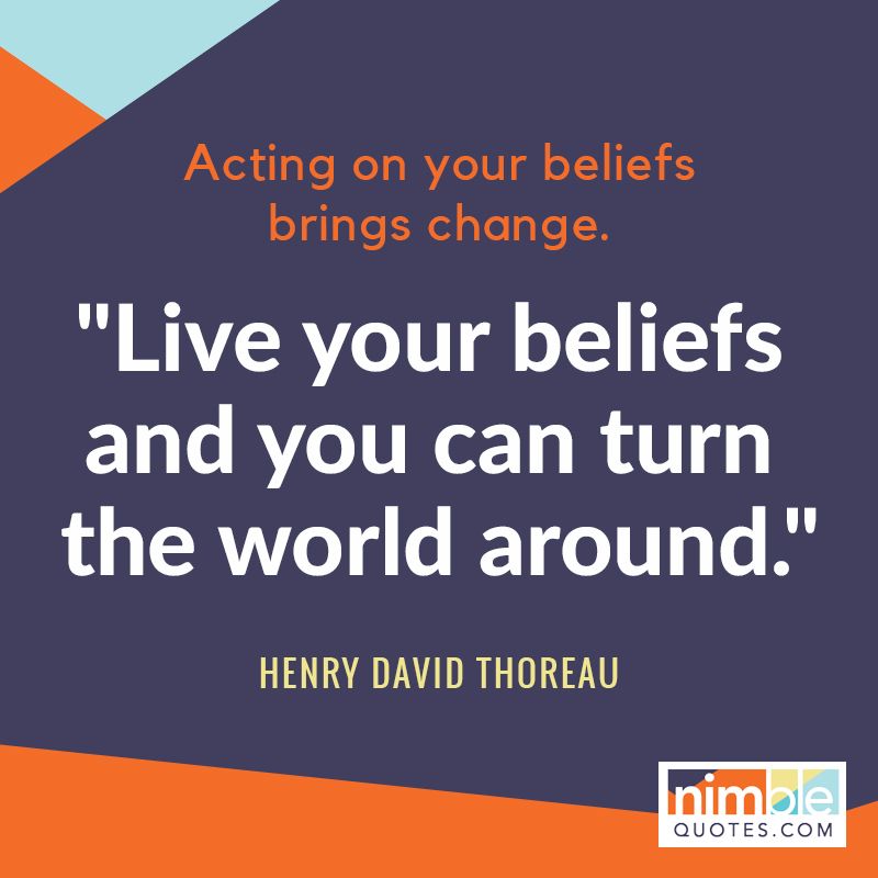 engaging quote by Thoreau